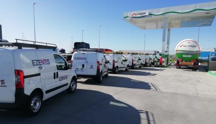 Ezentis apuesta por el combustible alternativo para su flota en España