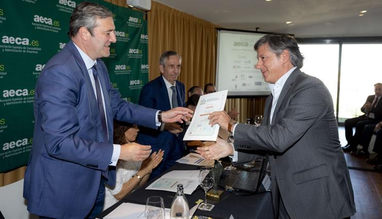 Ezentis recibe el premio AECA a la Transparencia Empresarial