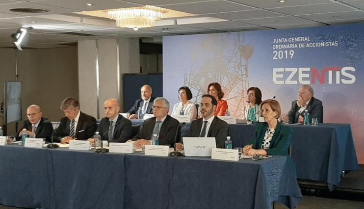 Los accionistas de Ezentis respaldan por amplia mayoría la gestión y las cuentas de 2018