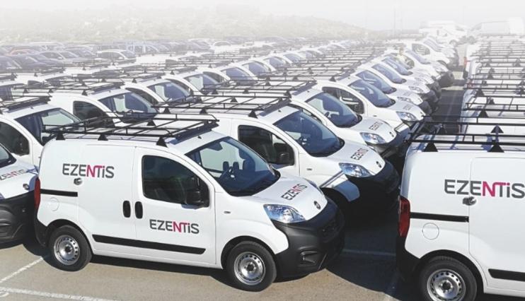 Ezentis impulsa su transformación digital a través de la gestión telemática de su flota de vehículos