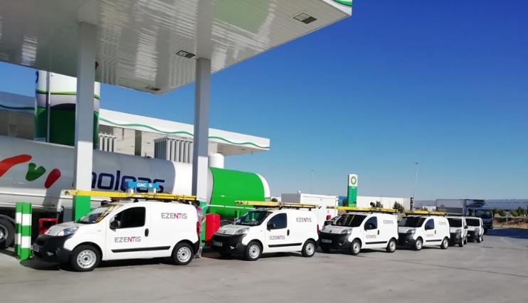 Ezentis renueva su flota de España y Brasil e incorpora vehículos sostenibles