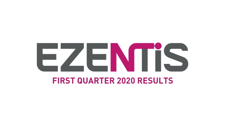 Ezentis recorded a moderate impact from Covid-19 with revenues down 8% in the first quarter