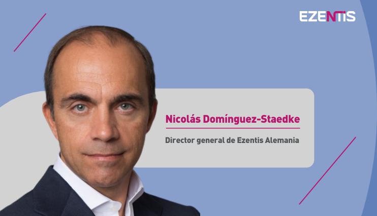Nicolás Domínguez-Staedke, nuevo director general de Ezentis Alemania