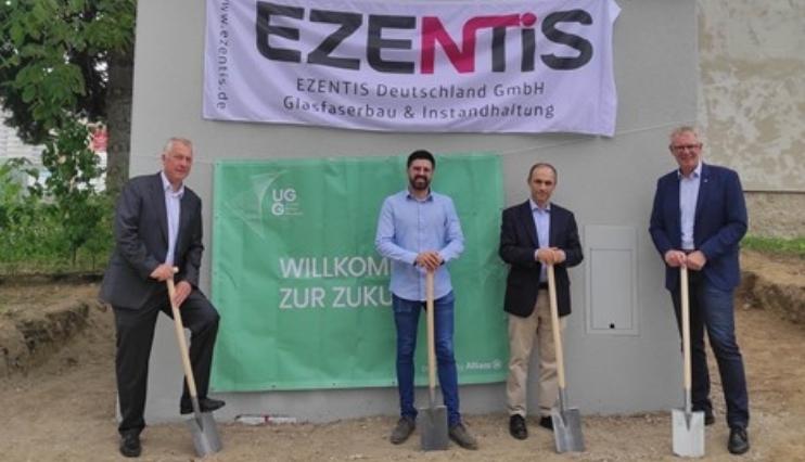 Ezentis comienza a desplegar fibra óptica en Alemania